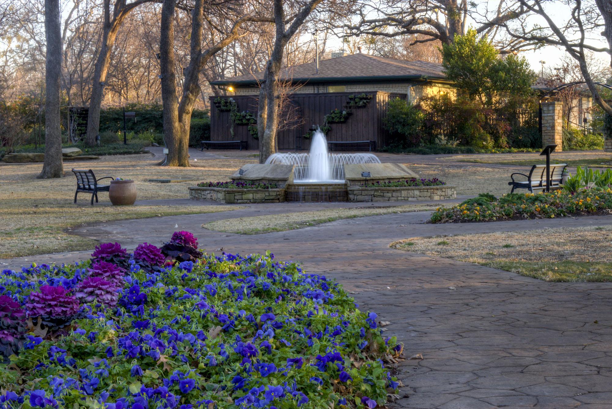 The Beauty of Grapevine's Botanical Garden