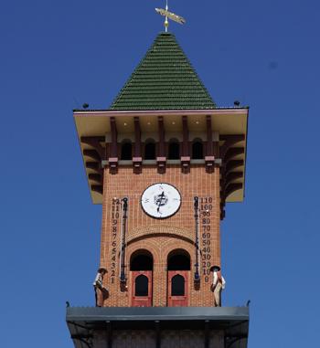 Grapevine Glockenspiel Clock Tower