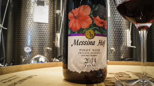 Messina Hof's Pinot Noir