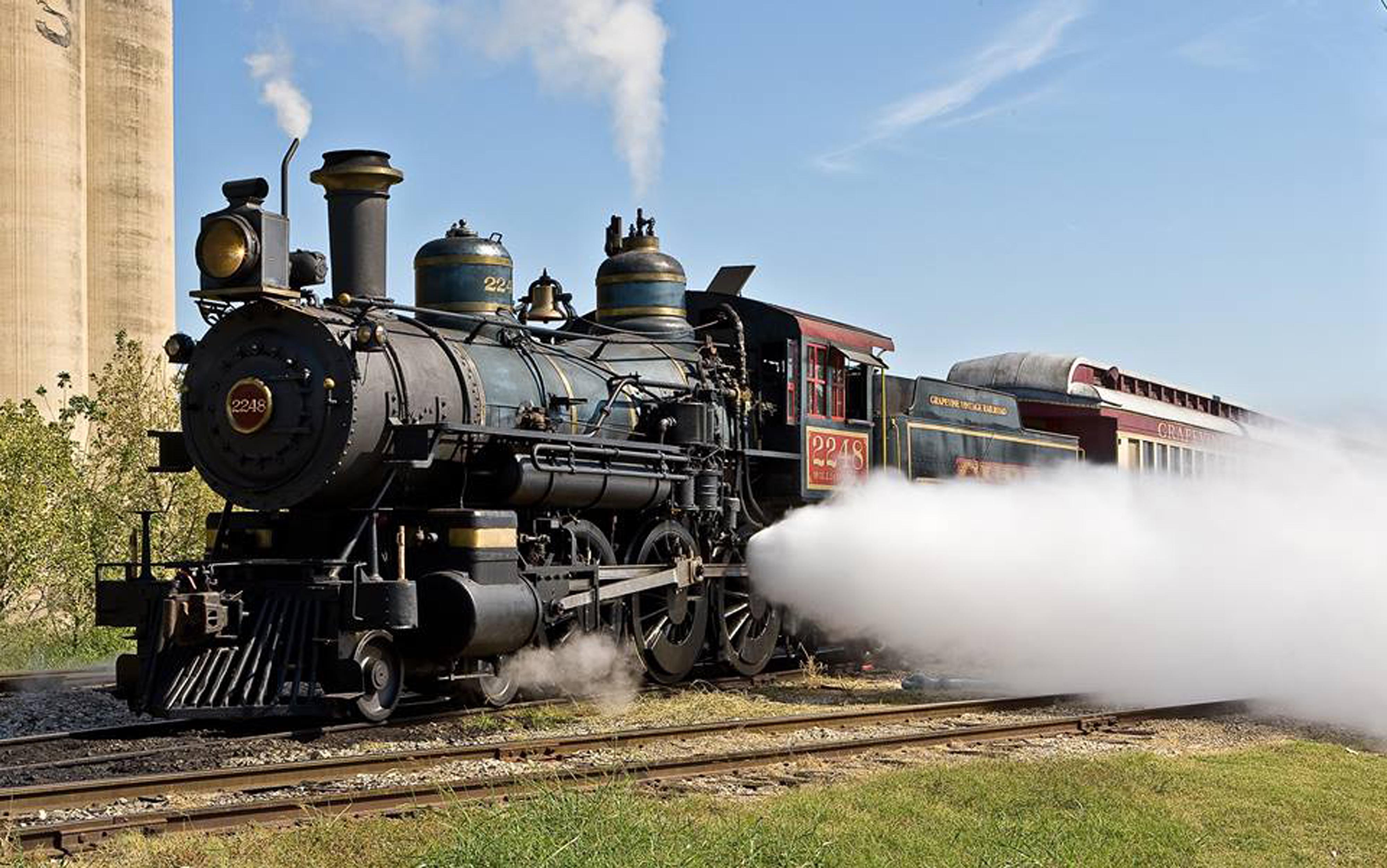 All Aboard the Grapevine Vintage Railroad