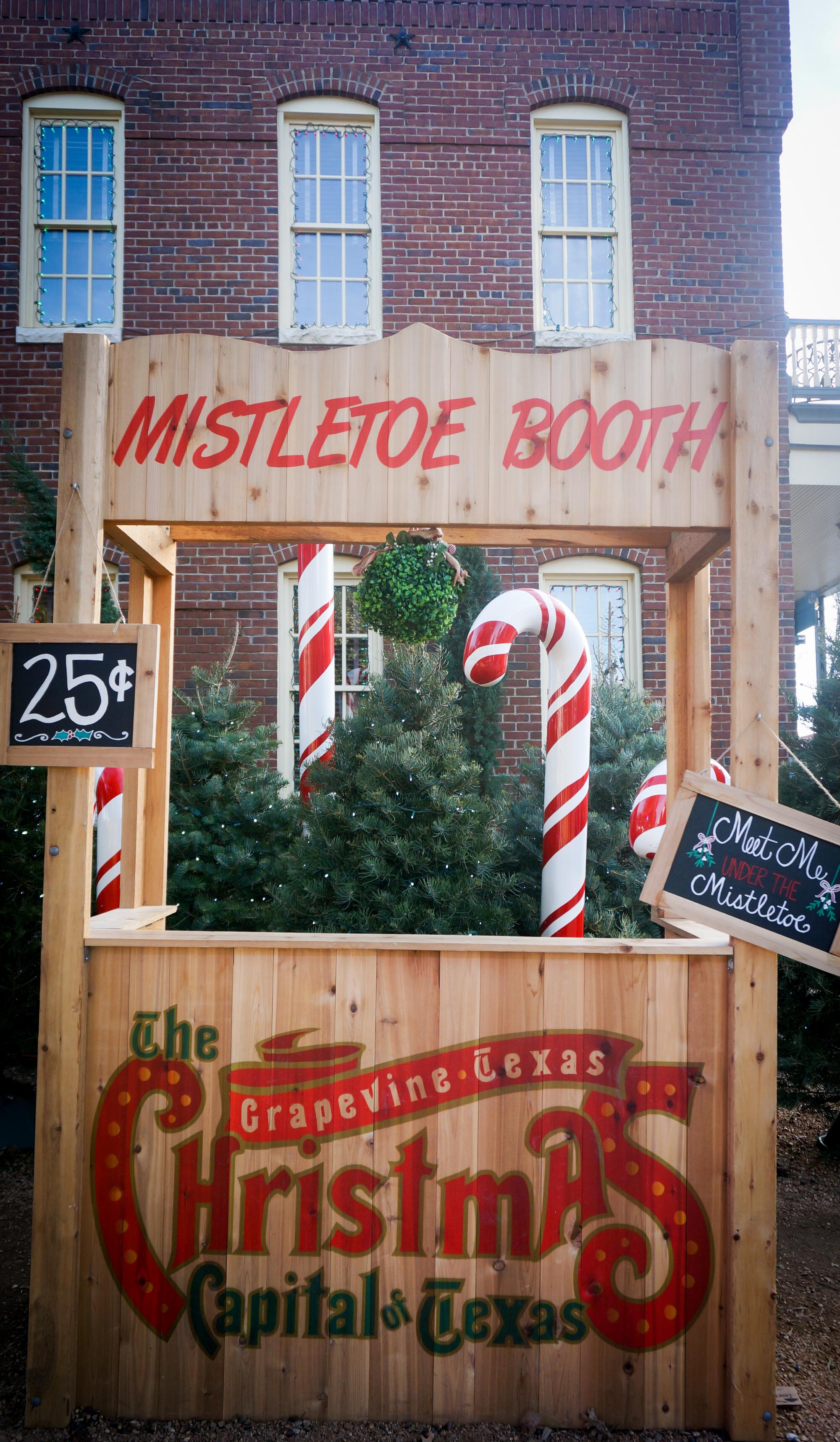 Share a Kiss at the Christmas Capital of Texas