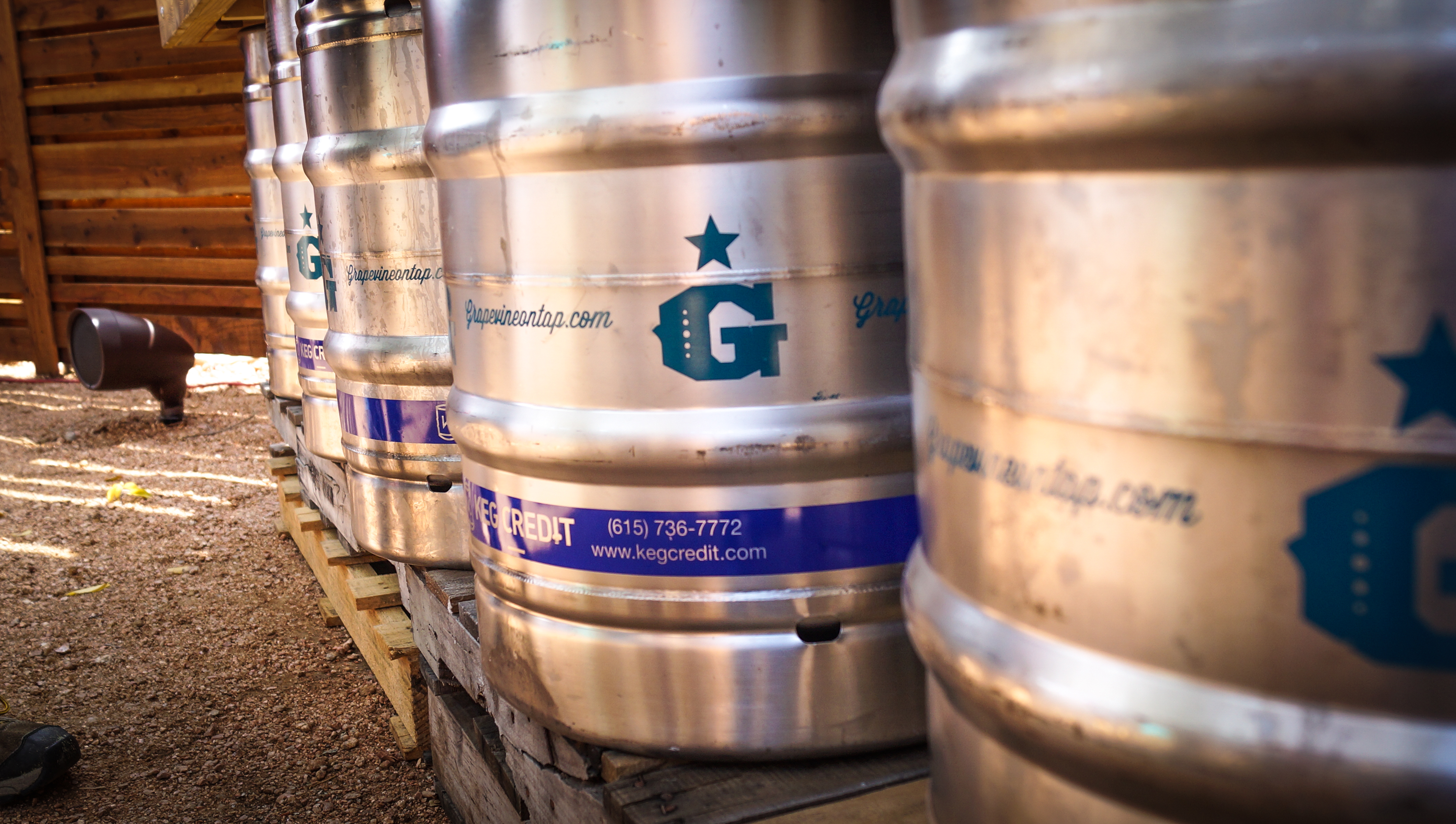 Grapevine Craft Brewery Offers a variety of brews