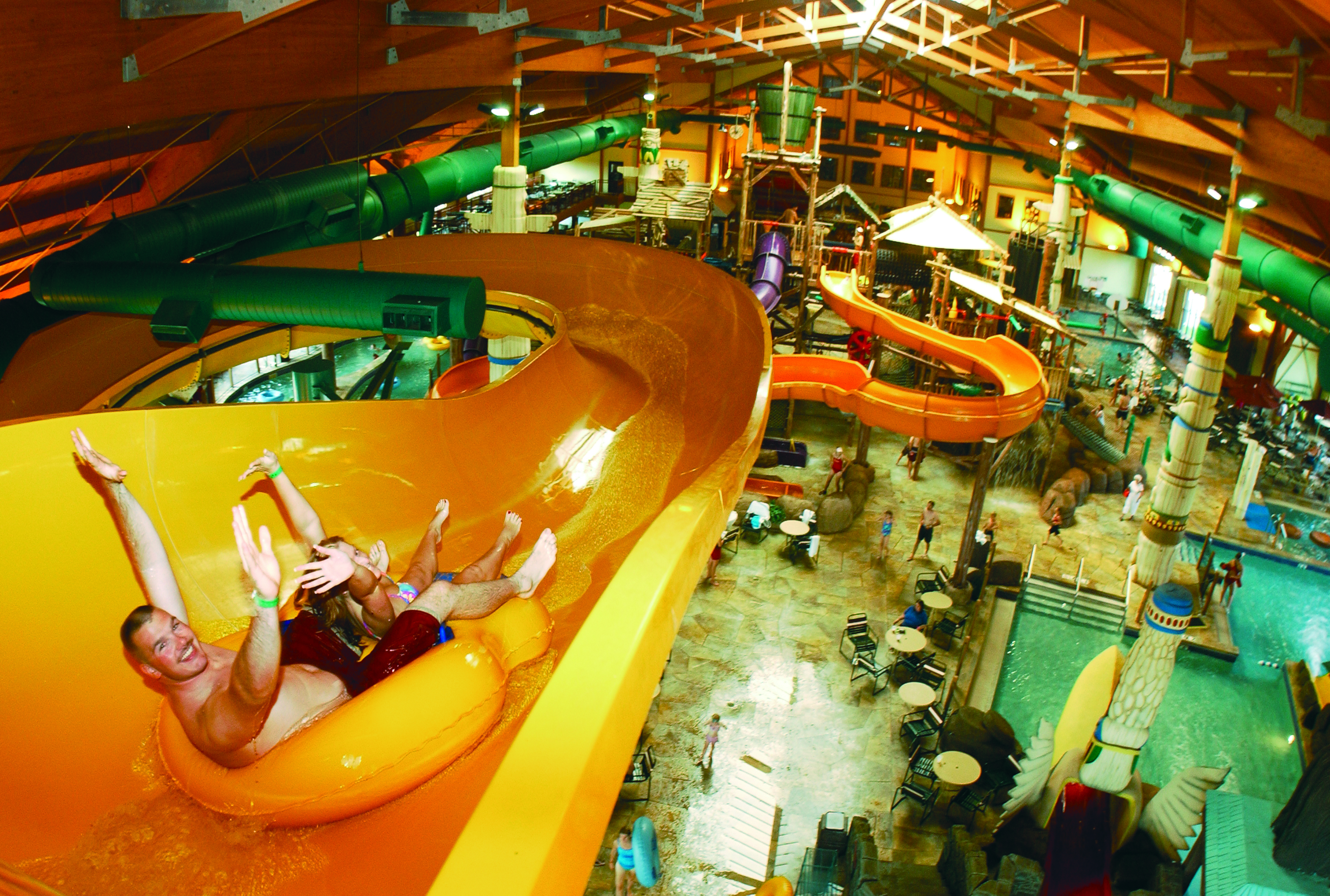 Water Adventures Great Wolf Lodge