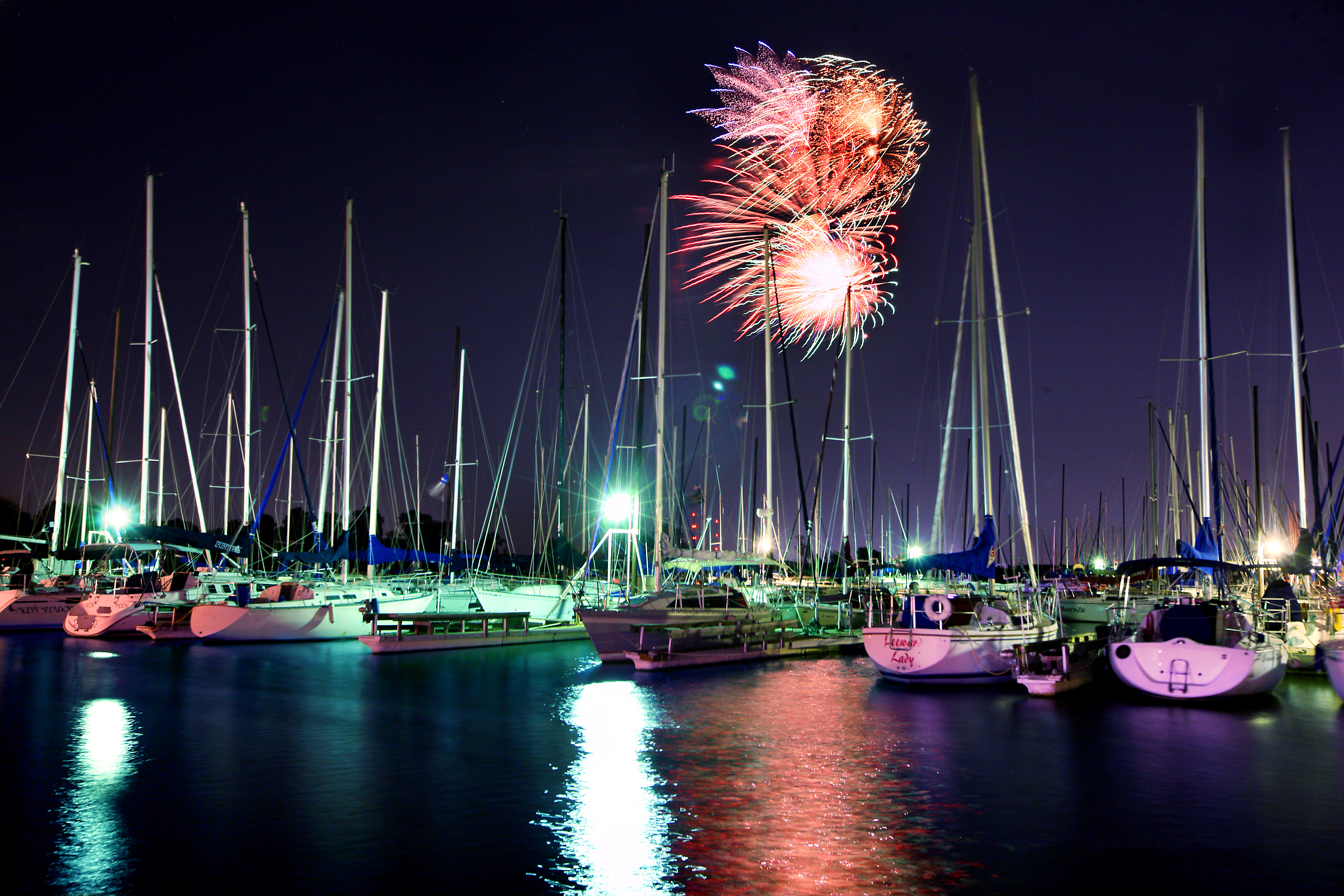 The Biggest July 4th Fireworks Show Ever
