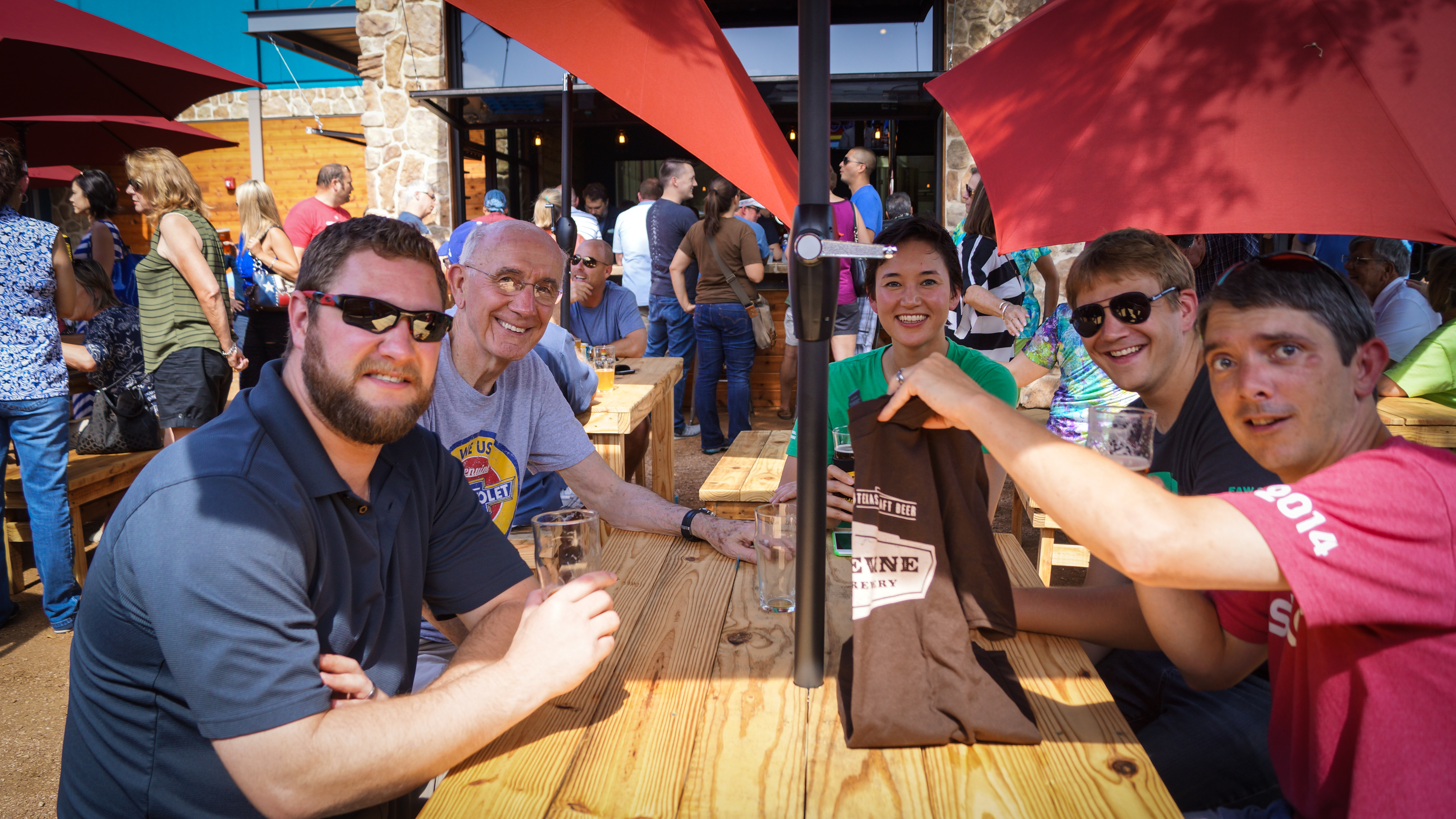 Say Cheers at Grapevine Craft Brewery