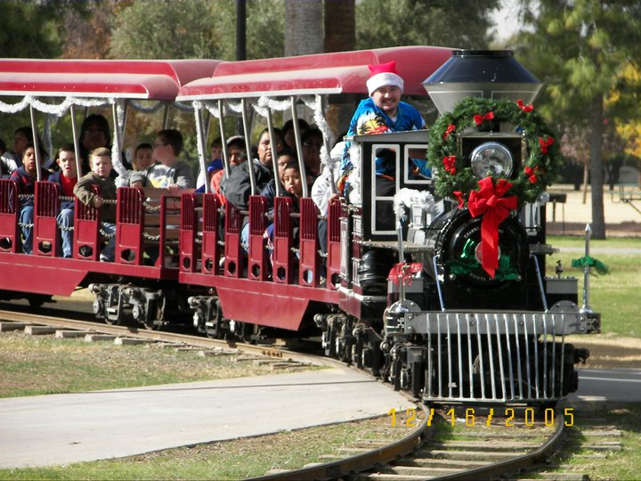 Enchanted Island's Winter Wonderland Express