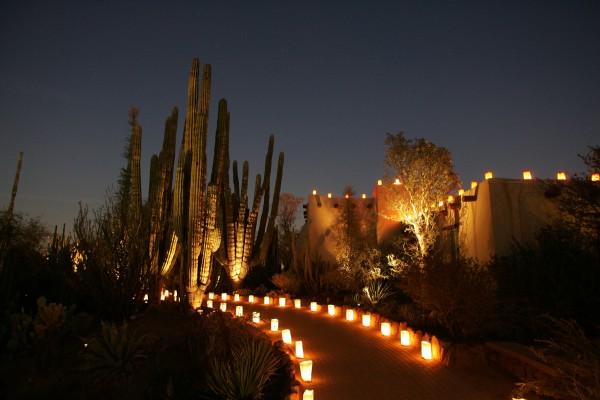Las Noches de las Luminarias (Credit: Adam Rodriguez)