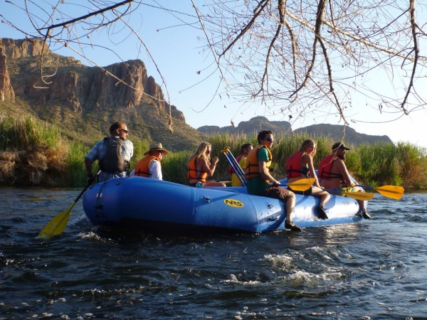 Rafting the lower salt river