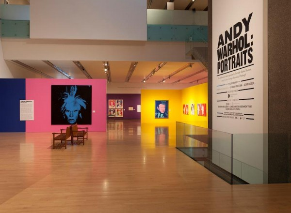 Photo of Andy Warhol: Portraits courtesy of Phoenix Art Museum