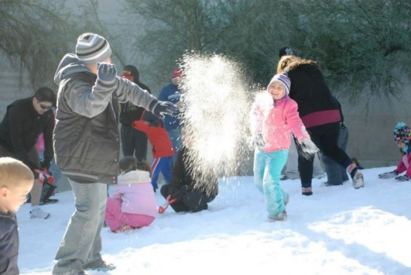 Snow Week begins Saturday at the Arizona Science Center. (Photo via Facebook)