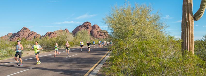 Rock 'n' Roll Arizona Marathon. Photo via Facebook