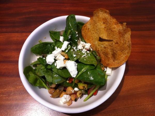 Phoenix Public Market Cafe, Mediterranean chopped salad
