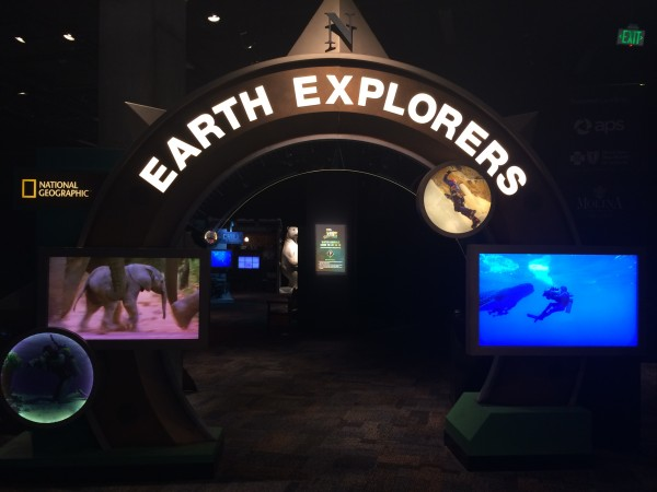 Earth Explorers exhibit at Arizona Science Center