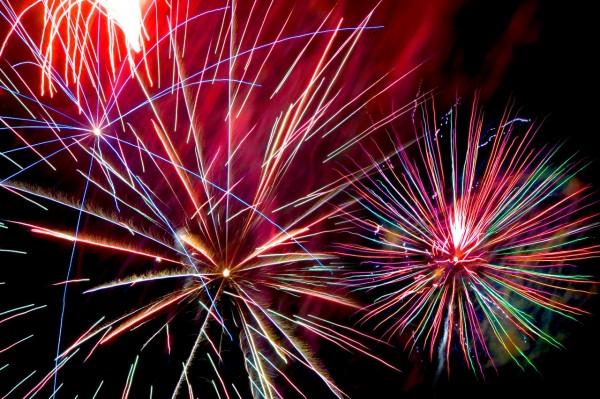 Fireworks in Phoenix