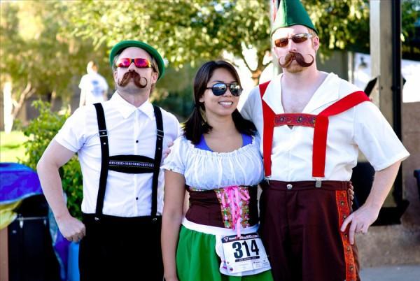 Strap on your lederhosen for the Das Frank Kush Foot Race 5K/10K, part of the Oktoberfest at Tempe Town Lake festivities.