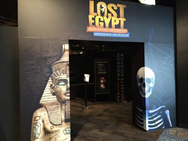 Lost Egypt exhibit