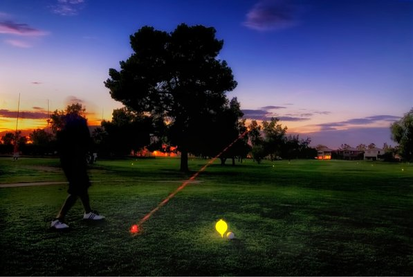 Night Flight Golf at Palo Verde