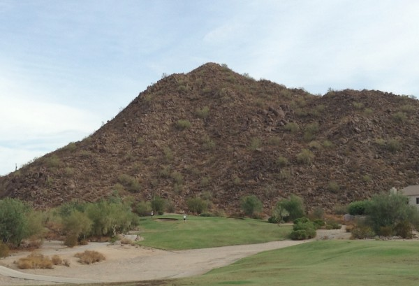 Las Sendas Golf Club 4th hole