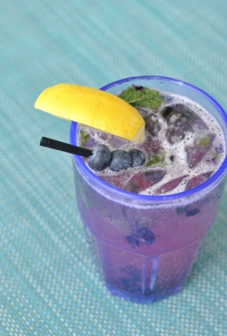 Hotel Valley Ho blueberry cooler