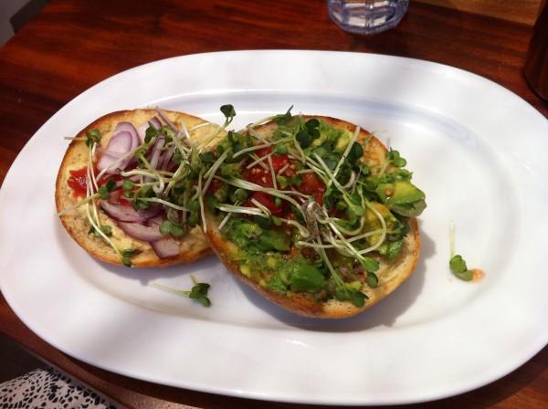 Phoenix Public Market Cafe, Roosevelt Row bagel