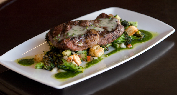 Grilled Beef Ribeye from District American Kitchen and Wine Bar