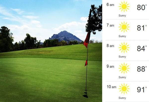 Phoenix summer golf