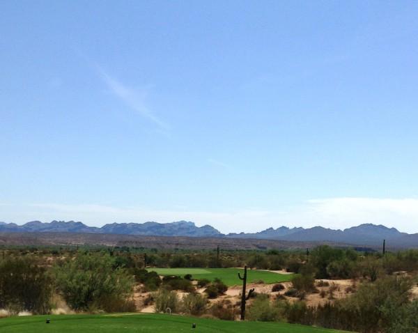 Hole 15 at We-Ko-Pa's Saguaro course