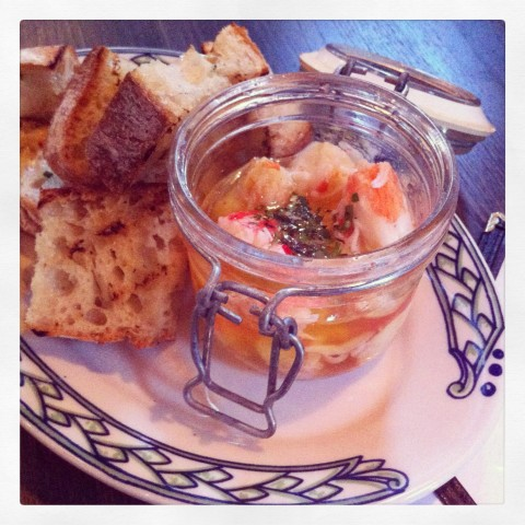 Warm Jar of King Crab & Butter w/Grilled Bread