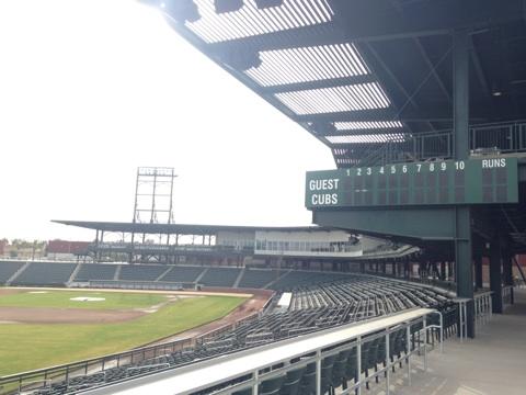 Cubs park stadium seating