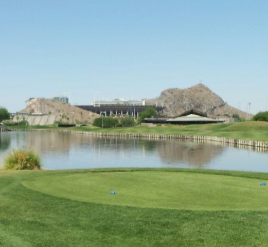 ASU Karsten Golf Course 18th Hole