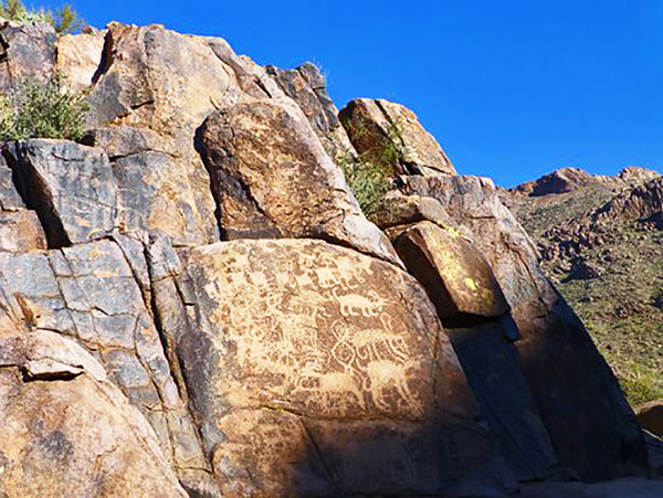 Hieroglyphic Trail Superstition Mountains