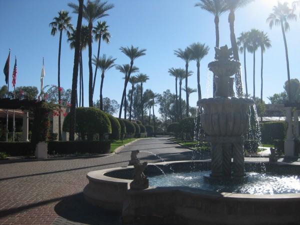 Scottsdale Resort and Conference Center entrance