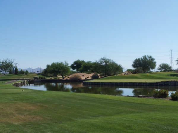 ASU Karsten Golf Course 4th hole