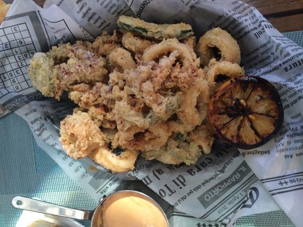 Calamari fritti Il Terrazzo The Phoenician