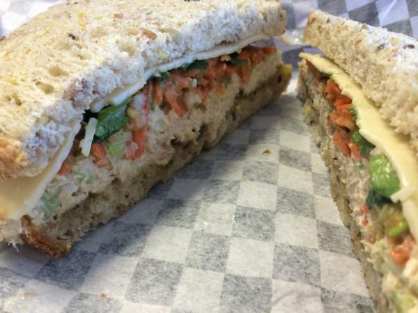 Ollie Vaughn's tuna sandwich