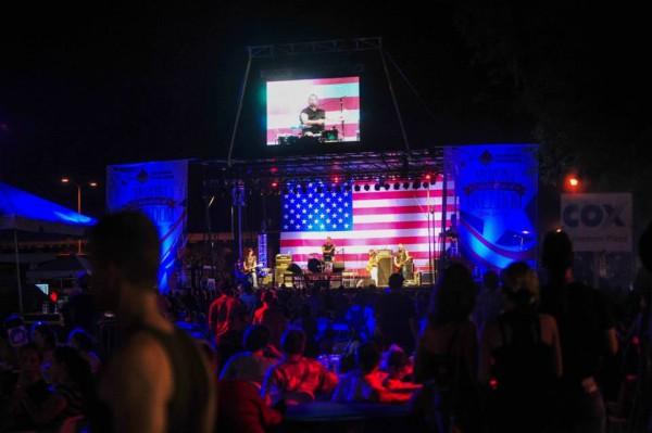 Live entertainment at the Arizona Celebration of Freedom in Mesa