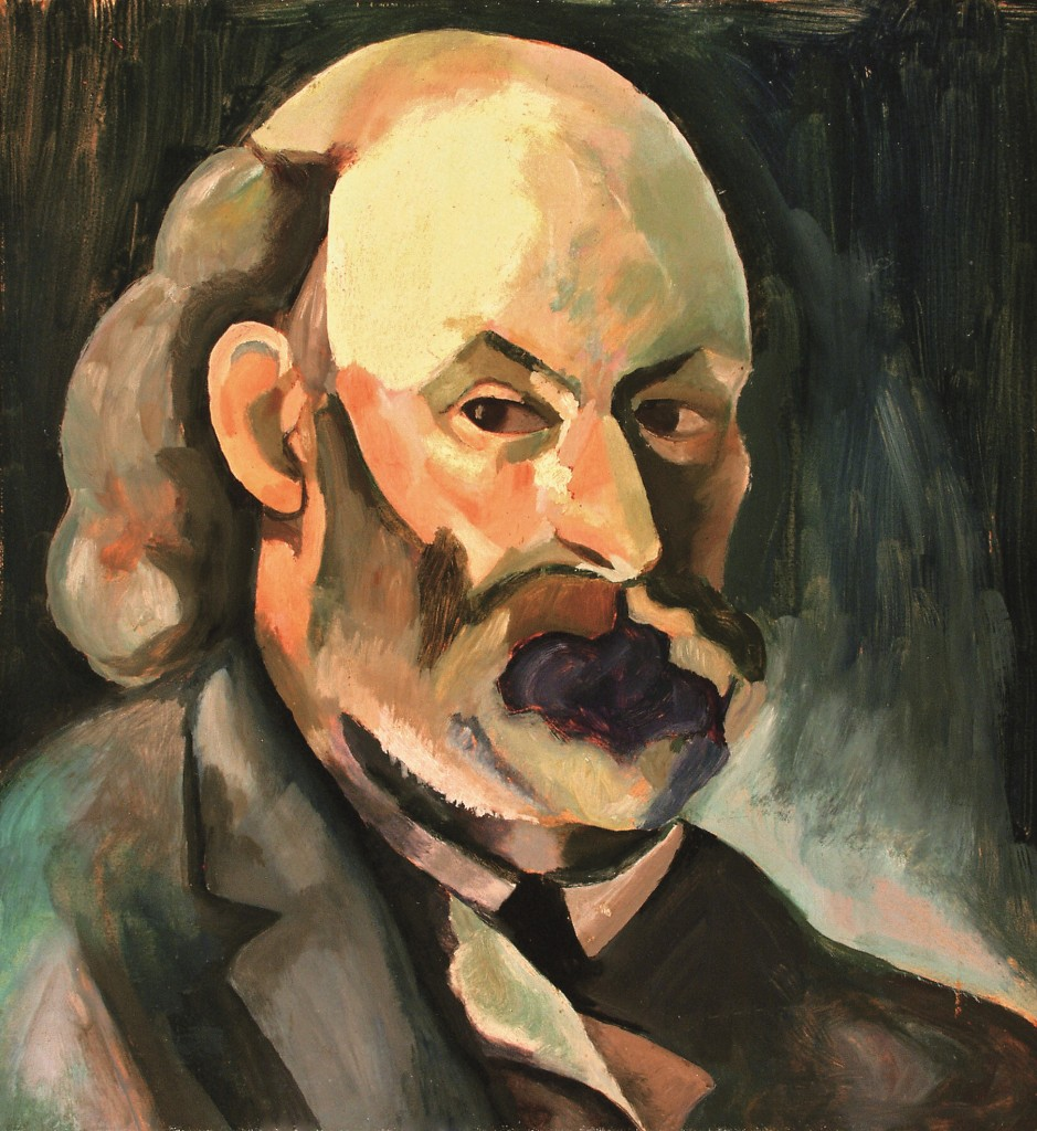 Portrait of Cezanne