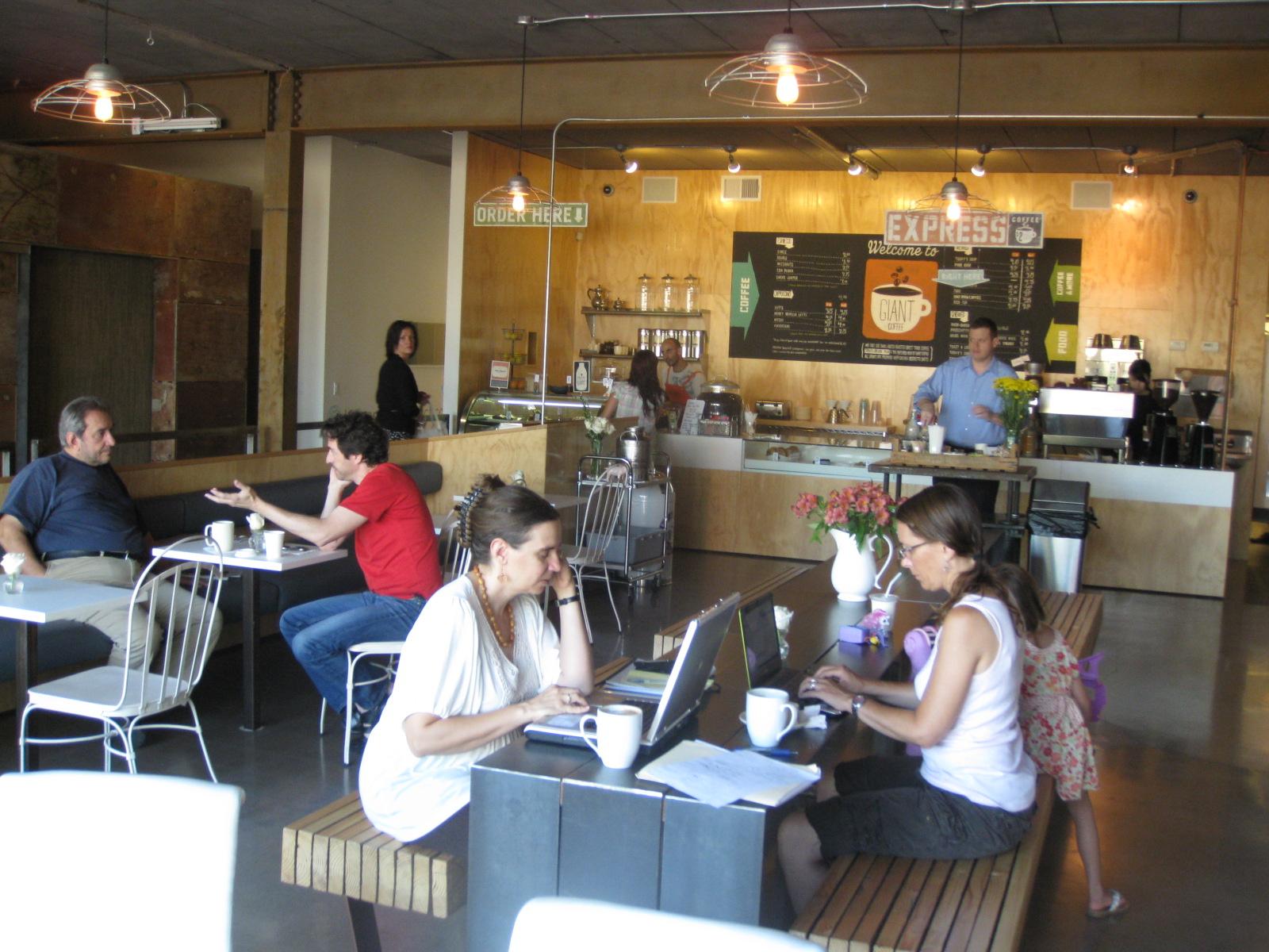 Inside Giant Coffee