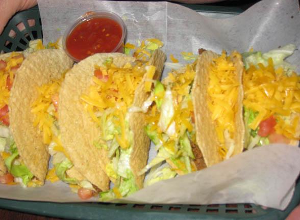 Tacos at JT's