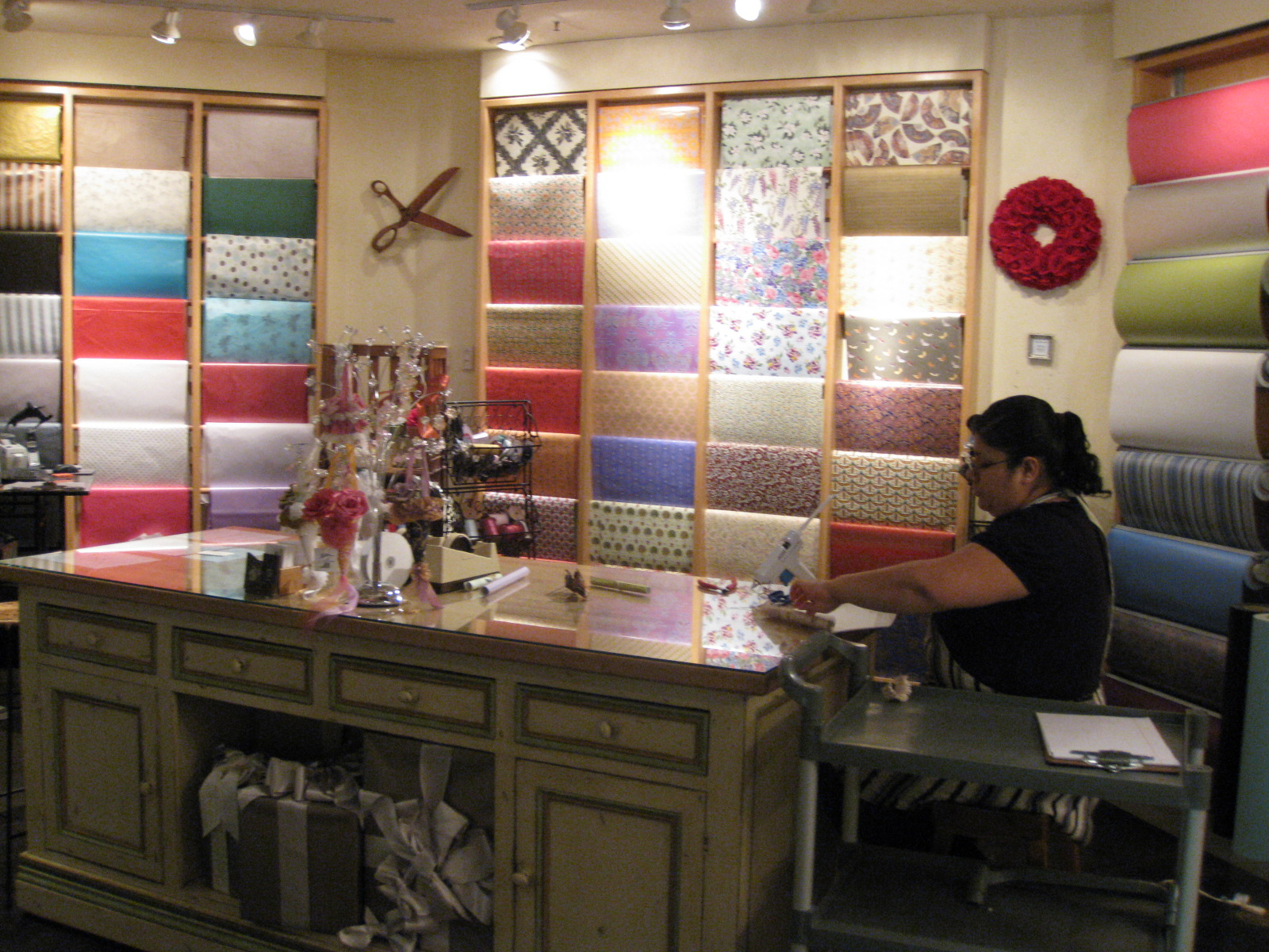 Gift Wrapping at Do Me a Favor