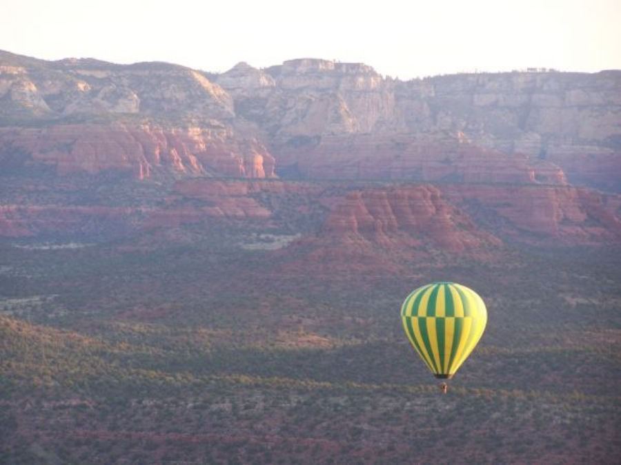 sedona hot air balloon