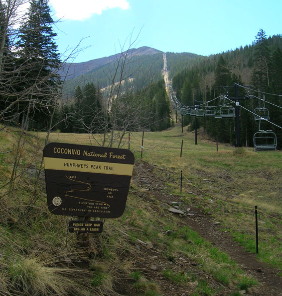 Humphrey's Trailhead
