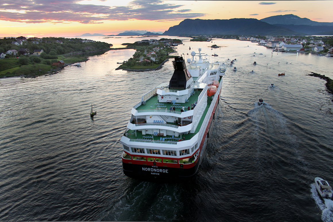 Hurtigruten expedition ship