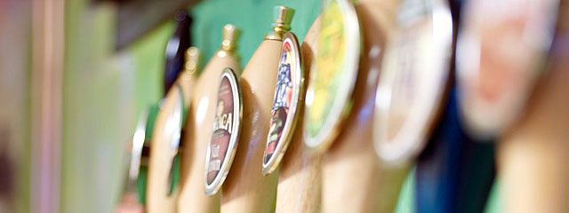 Taps at Ithaca Brewery