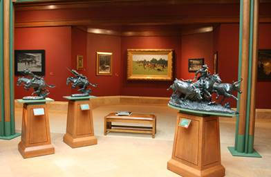 Inside at the Frederic Remington Museum