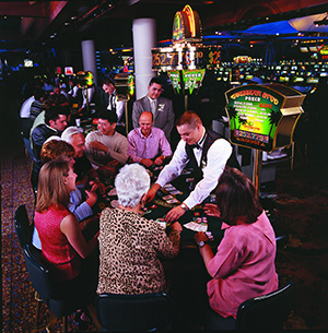 Interior image of Seneca Niagara Casino