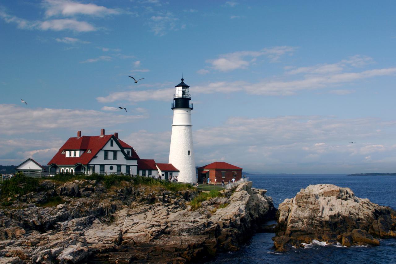 12+ Pictures Of Lighthouses In Maine Background