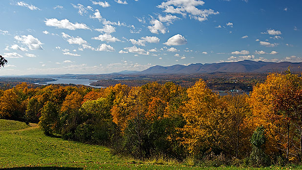 Hudson Valley as seen from Olana Historic Site