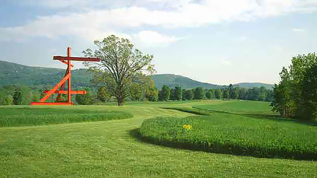 Storm King Art Center - Motherpeace-di Suvero