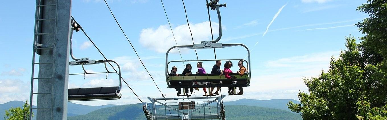 Scenic Skyride on the Kaatskill Flyer